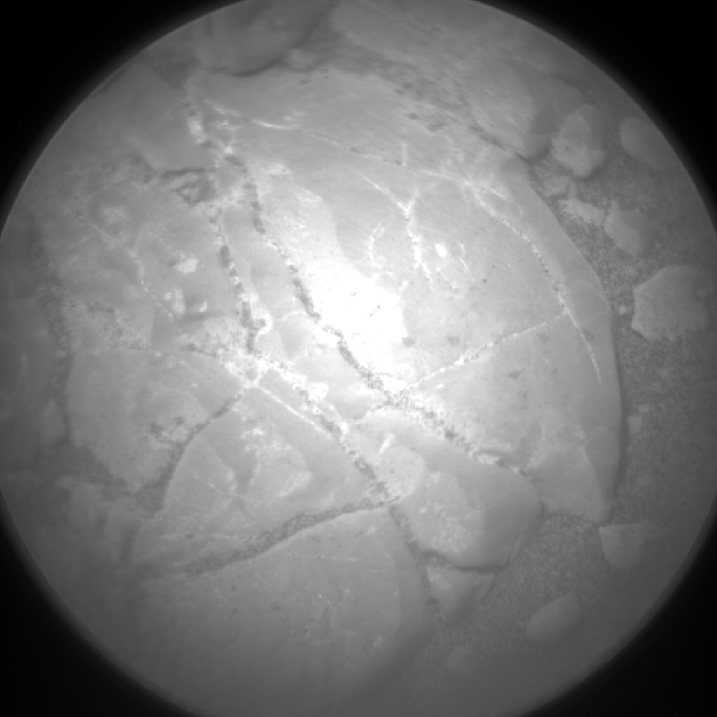 Nasa's Mars rover Curiosity acquired this image using its Chemistry & Camera (ChemCam) on Sol 2287, at drive 1206, site number 73
