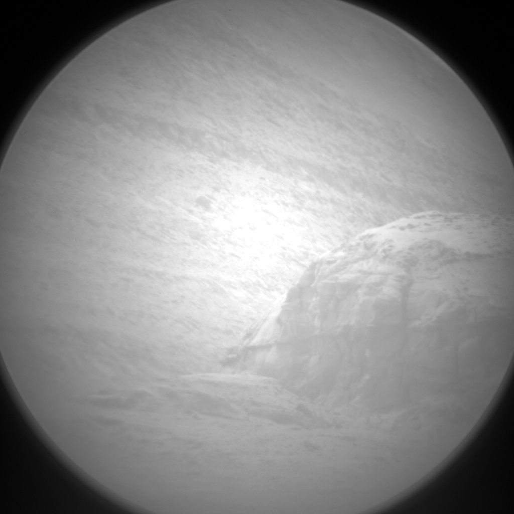 Nasa's Mars rover Curiosity acquired this image using its Chemistry & Camera (ChemCam) on Sol 2291, at drive 1206, site number 73