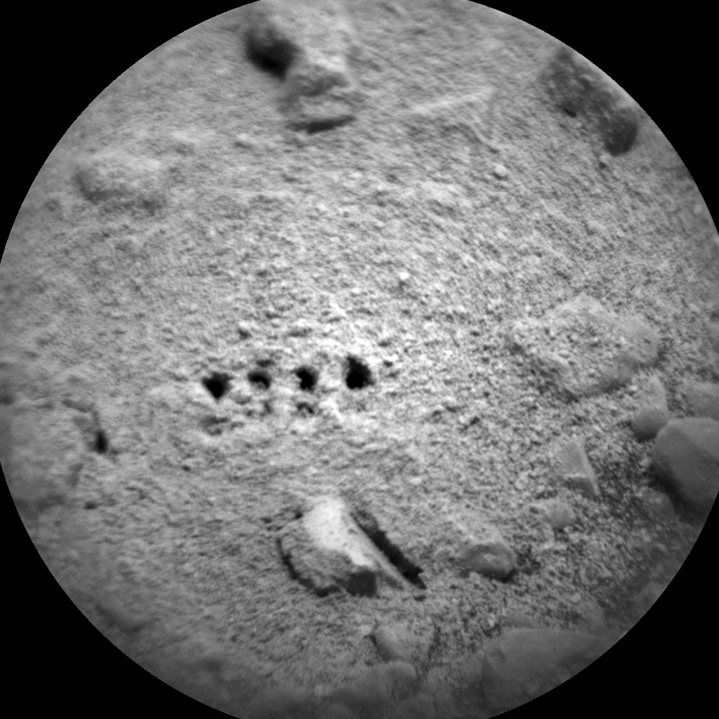 Nasa's Mars rover Curiosity acquired this image using its Chemistry & Camera (ChemCam) on Sol 2292, at drive 1206, site number 73