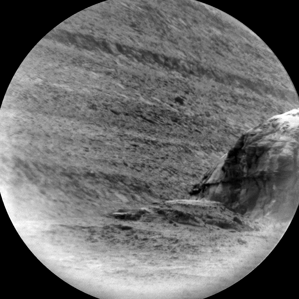 Nasa's Mars rover Curiosity acquired this image using its Chemistry & Camera (ChemCam) on Sol 2295, at drive 1206, site number 73