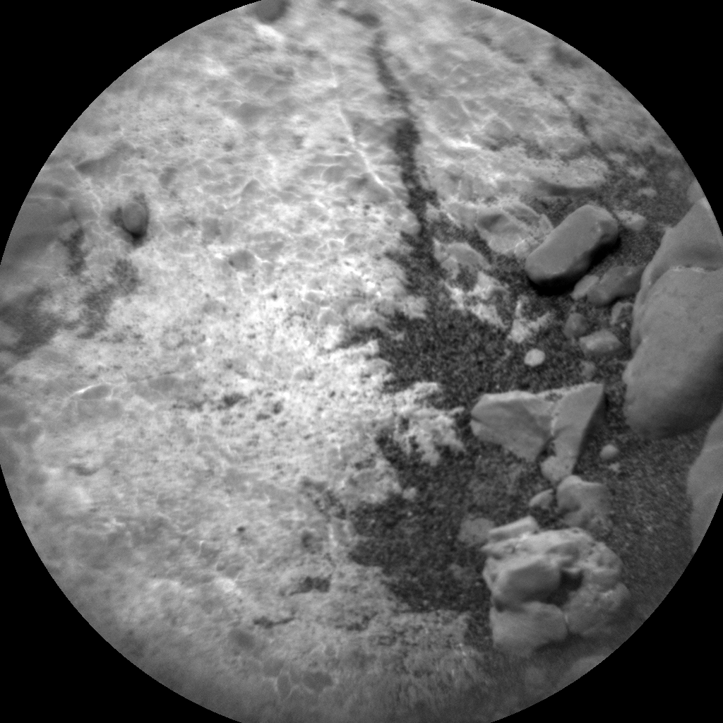 Nasa's Mars rover Curiosity acquired this image using its Chemistry & Camera (ChemCam) on Sol 2296, at drive 1206, site number 73