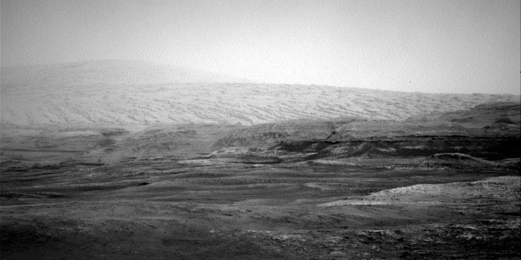 NASA's Mars rover Curiosity acquired this image using its Left Navigation Camera (Navcams) on Sol 2297