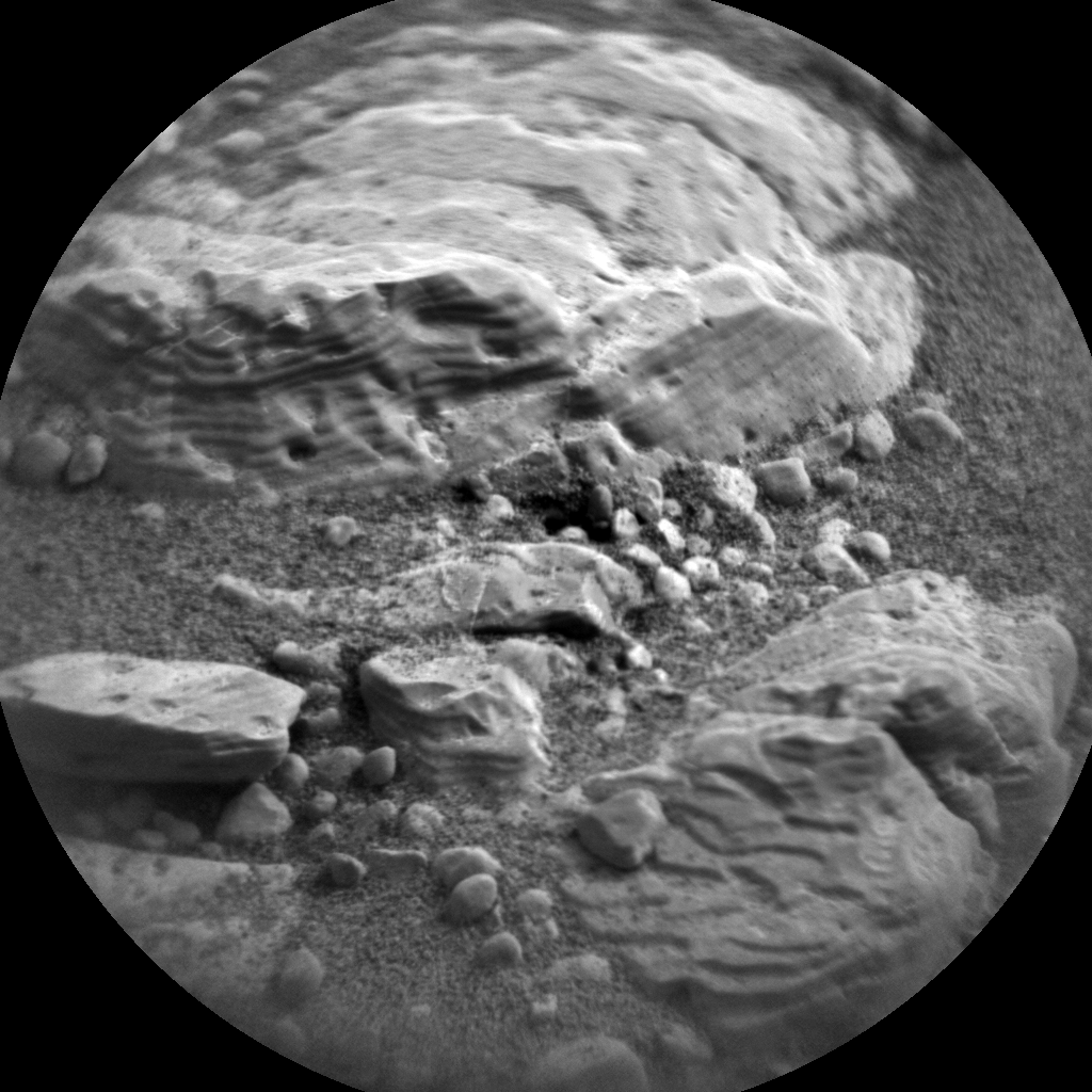 Nasa's Mars rover Curiosity acquired this image using its Chemistry & Camera (ChemCam) on Sol 2297, at drive 1482, site number 73