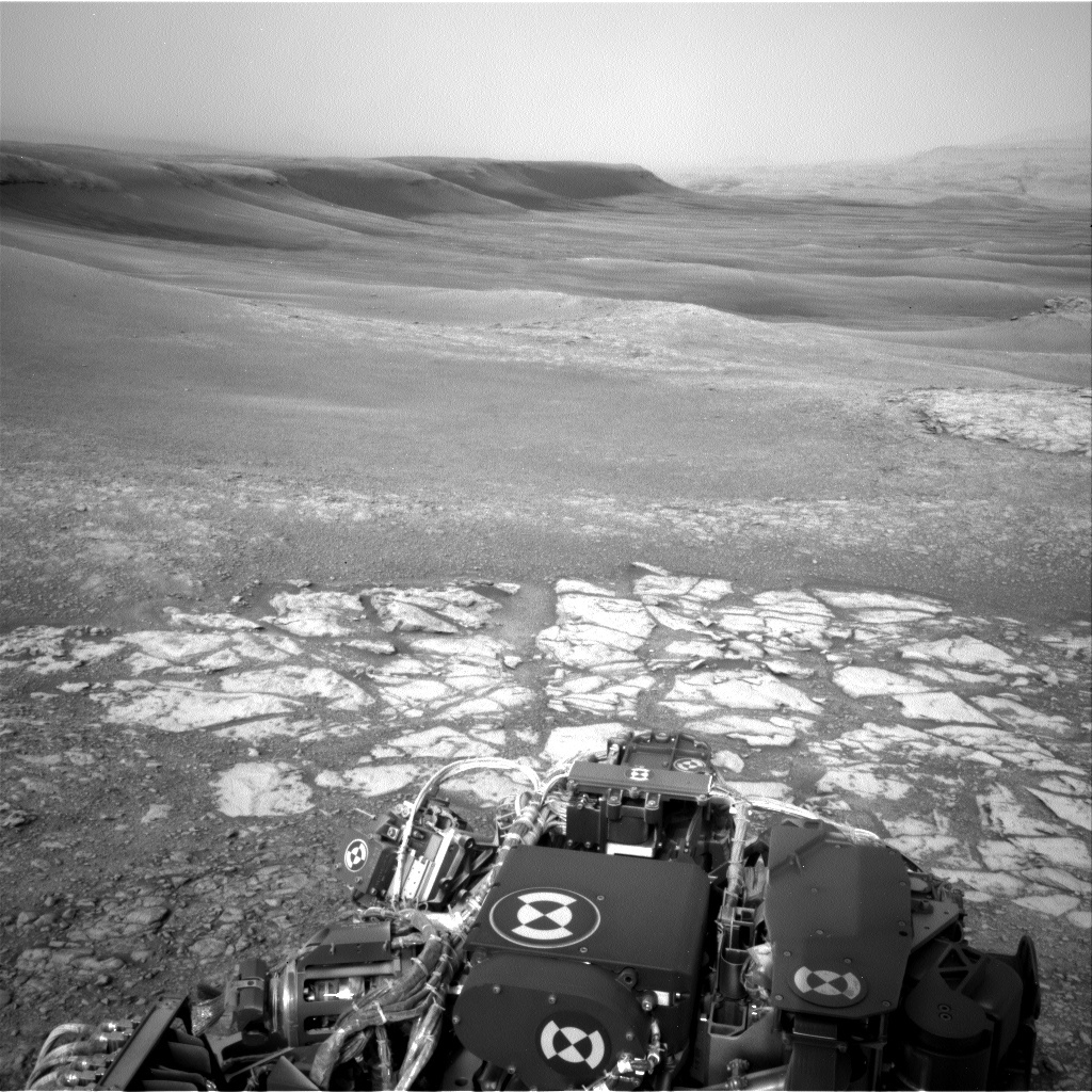 NASA's Mars rover Curiosity acquired this image using its Left Navigation Camera (Navcams) on Sol 2299