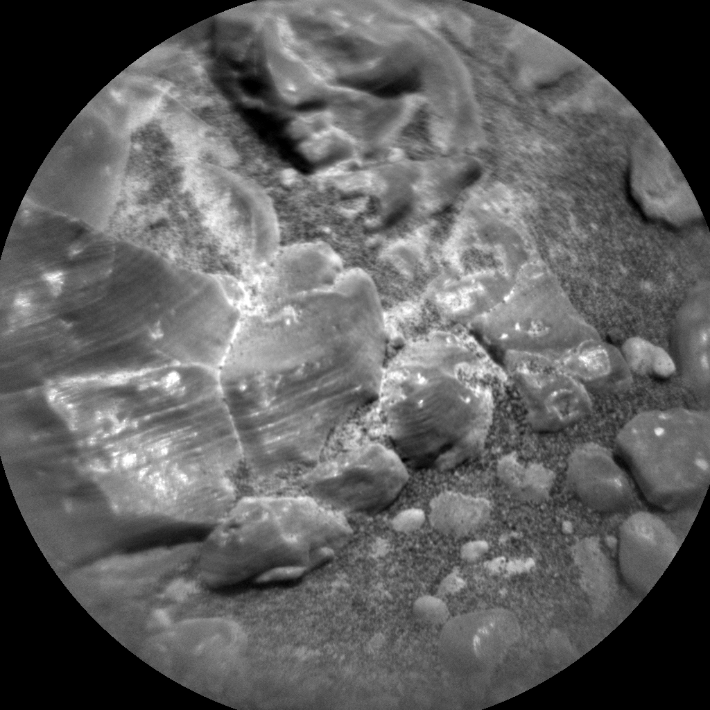 Nasa's Mars rover Curiosity acquired this image using its Chemistry & Camera (ChemCam) on Sol 2299, at drive 1692, site number 73