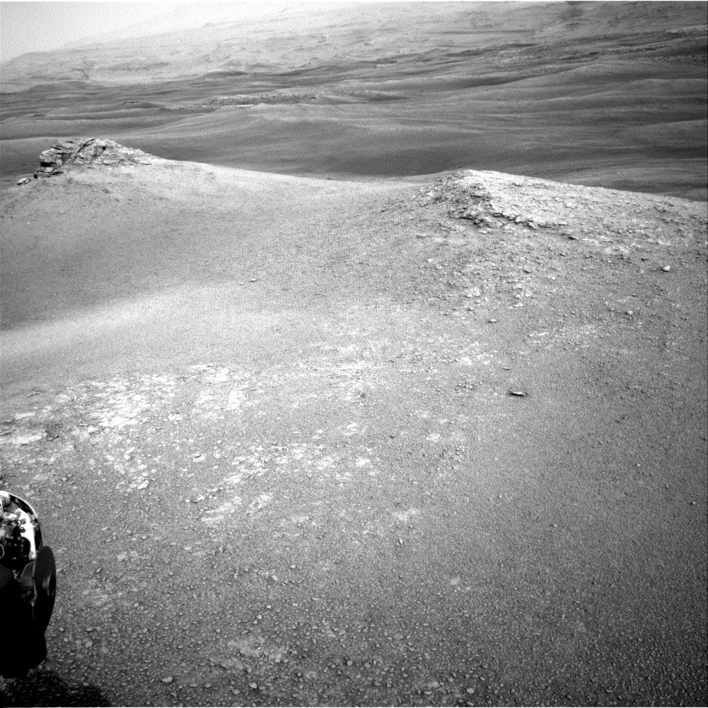NASA's Mars rover Curiosity acquired this image using its Right Navigation Cameras (Navcams) on Sol 2302