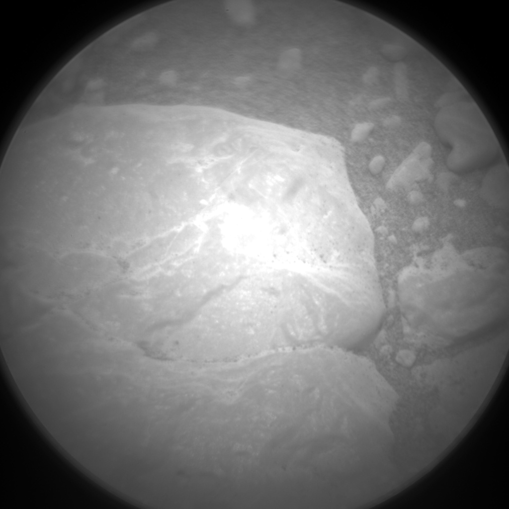 Nasa's Mars rover Curiosity acquired this image using its Chemistry & Camera (ChemCam) on Sol 2304, at drive 2346, site number 73