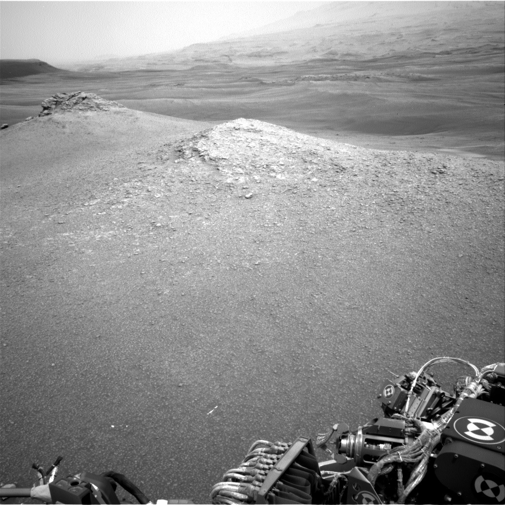 NASA's Mars rover Curiosity acquired this image using its Left Navigation Camera (Navcams) on Sol 2304