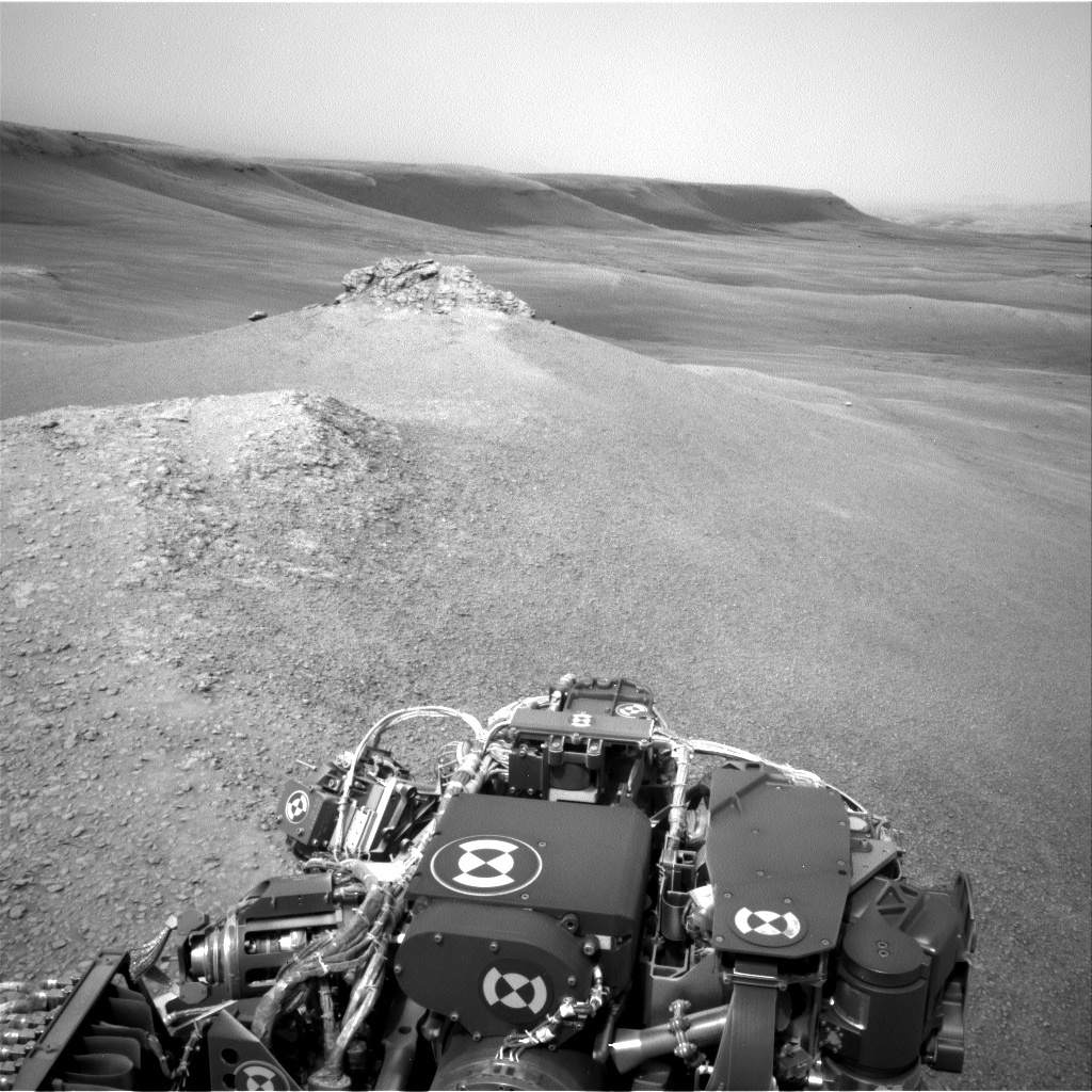 NASA's Mars rover Curiosity acquired this image using its Left Navigation Camera (Navcams) on Sol 2306