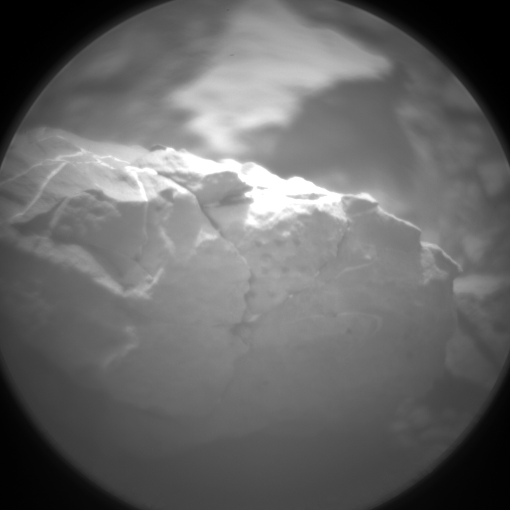 Nasa's Mars rover Curiosity acquired this image using its Chemistry & Camera (ChemCam) on Sol 2307, at drive 2502, site number 73
