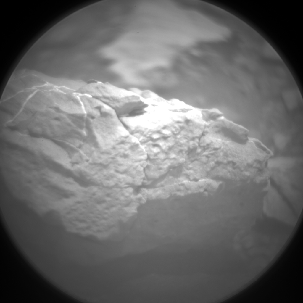 Nasa's Mars rover Curiosity acquired this image using its Chemistry & Camera (ChemCam) on Sol 2308, at drive 2502, site number 73