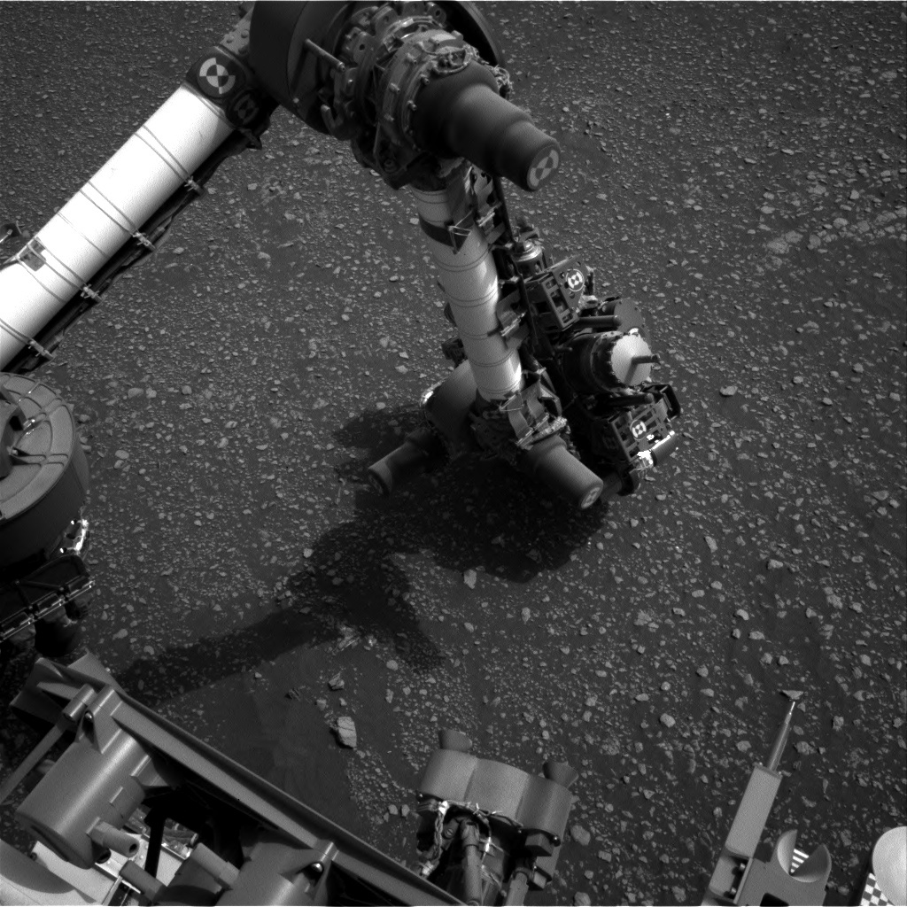 NASA's Mars rover Curiosity acquired this image using its Left Navigation Camera (Navcams) on Sol 2313