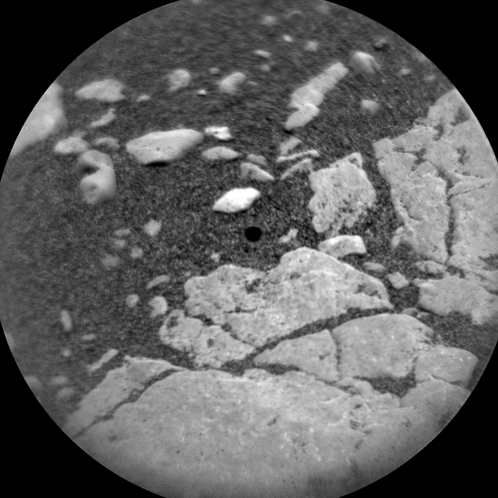 Nasa's Mars rover Curiosity acquired this image using its Chemistry & Camera (ChemCam) on Sol 2313, at drive 2958, site number 73