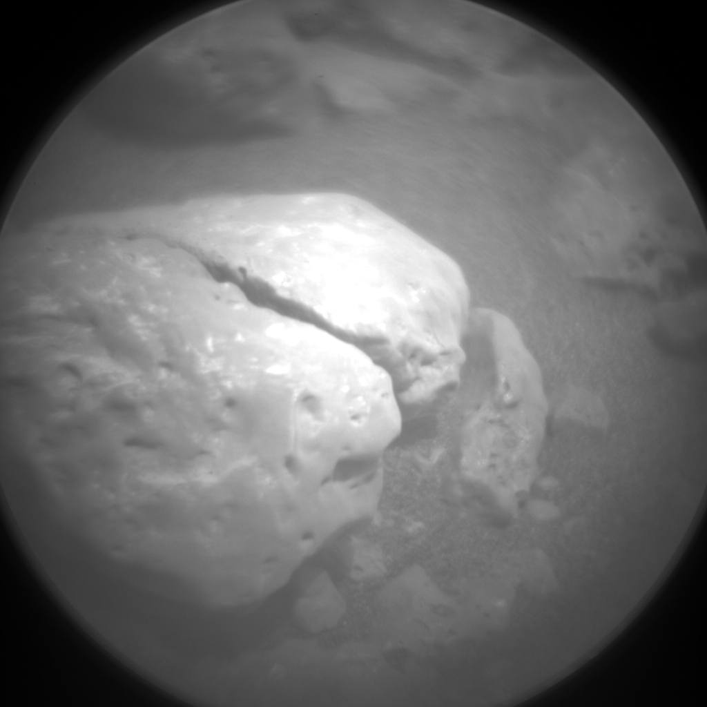 Nasa's Mars rover Curiosity acquired this image using its Chemistry & Camera (ChemCam) on Sol 2316, at drive 0, site number 74