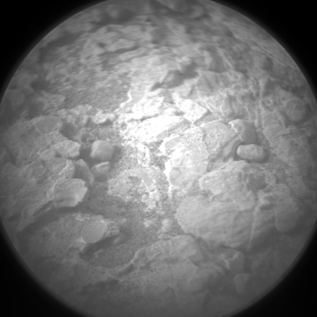 Nasa's Mars rover Curiosity acquired this image using its Chemistry & Camera (ChemCam) on Sol 2316, at drive 210, site number 74