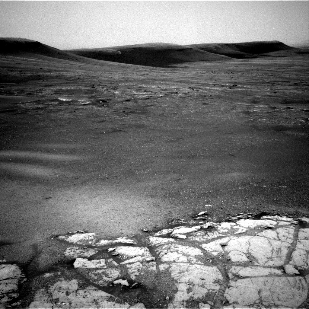NASA's Mars rover Curiosity acquired this image using its Left Navigation Camera (Navcams) on Sol 2316