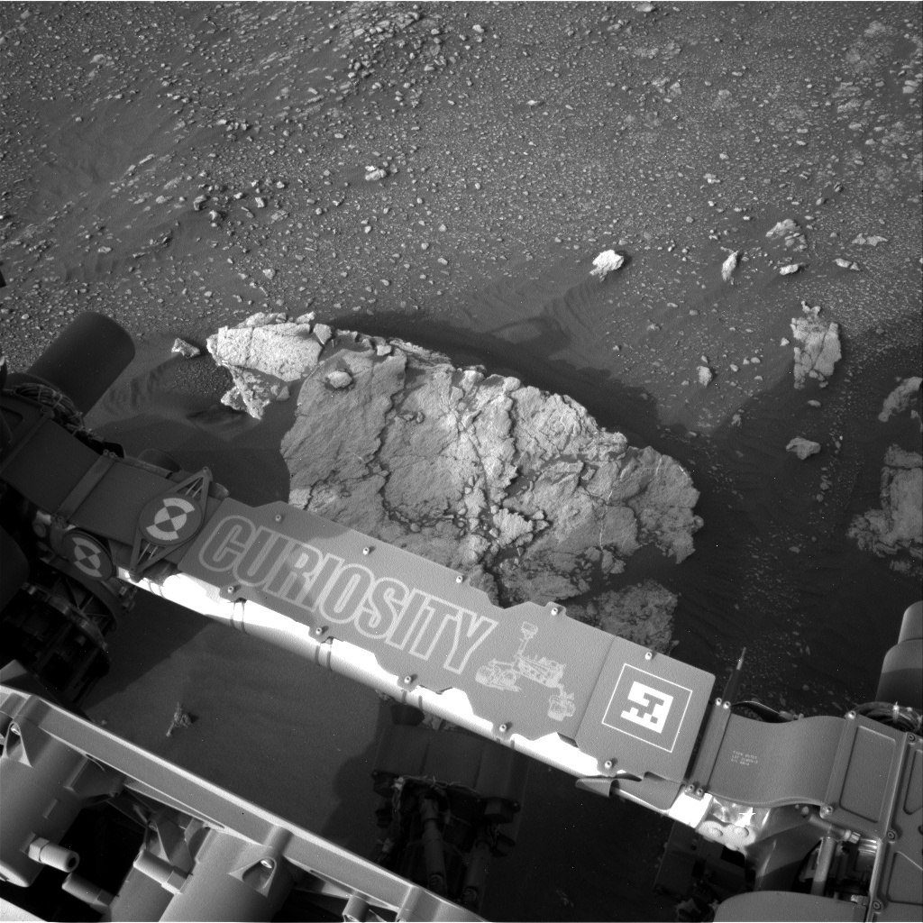NASA's Mars rover Curiosity acquired this image using its Left Navigation Camera (Navcams) on Sol 2320