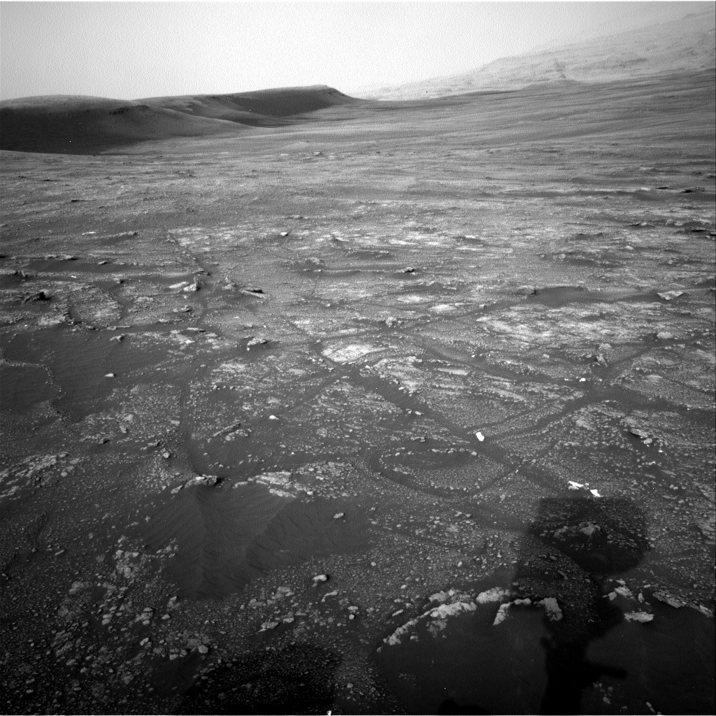NASA's Mars rover Curiosity acquired this image using its Right Navigation Cameras (Navcams) on Sol 2320