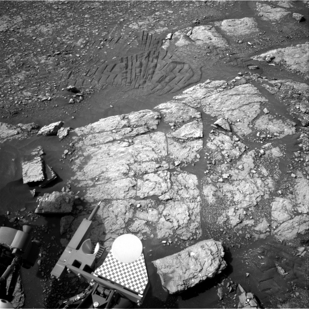 Nasa's Mars rover Curiosity acquired this image using its Right Navigation Camera on Sol 2347, at drive 0, site number 75