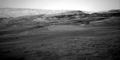 Nasa's Mars rover Curiosity acquired this image using its Right Navigation Camera on Sol 2349, at drive 0, site number 75
