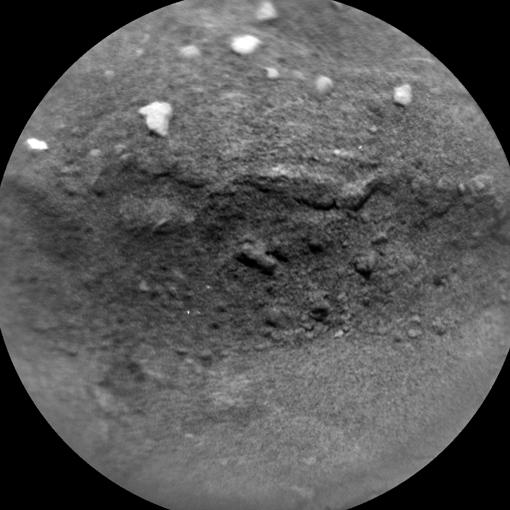 Nasa's Mars rover Curiosity acquired this image using its Chemistry & Camera (ChemCam) on Sol 2349, at drive 0, site number 75