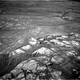 Nasa's Mars rover Curiosity acquired this image using its Right Navigation Camera on Sol 2350, at drive 0, site number 75