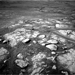 Nasa's Mars rover Curiosity acquired this image using its Right Navigation Camera on Sol 2350, at drive 30, site number 75