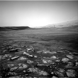 Nasa's Mars rover Curiosity acquired this image using its Right Navigation Camera on Sol 2350, at drive 42, site number 75
