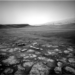 Nasa's Mars rover Curiosity acquired this image using its Right Navigation Camera on Sol 2350, at drive 48, site number 75