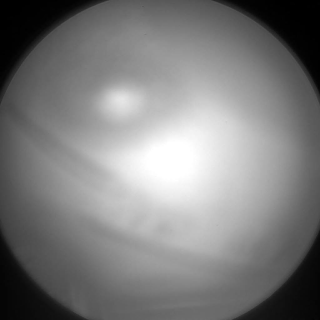 Nasa's Mars rover Curiosity acquired this image using its Chemistry & Camera (ChemCam) on Sol 2351, at drive 60, site number 75