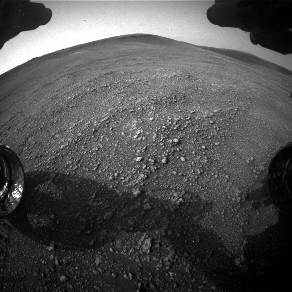 Nasa's Mars rover Curiosity acquired this image using its Front Hazard Avoidance Camera (Front Hazcam) on Sol 2352, at drive 264, site number 75