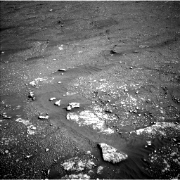 Nasa's Mars rover Curiosity acquired this image using its Left Navigation Camera on Sol 2352, at drive 78, site number 75