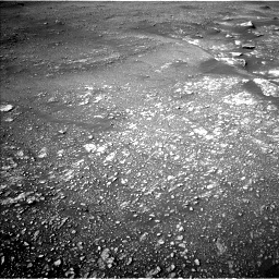 Nasa's Mars rover Curiosity acquired this image using its Left Navigation Camera on Sol 2352, at drive 138, site number 75