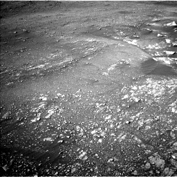 Nasa's Mars rover Curiosity acquired this image using its Left Navigation Camera on Sol 2352, at drive 150, site number 75