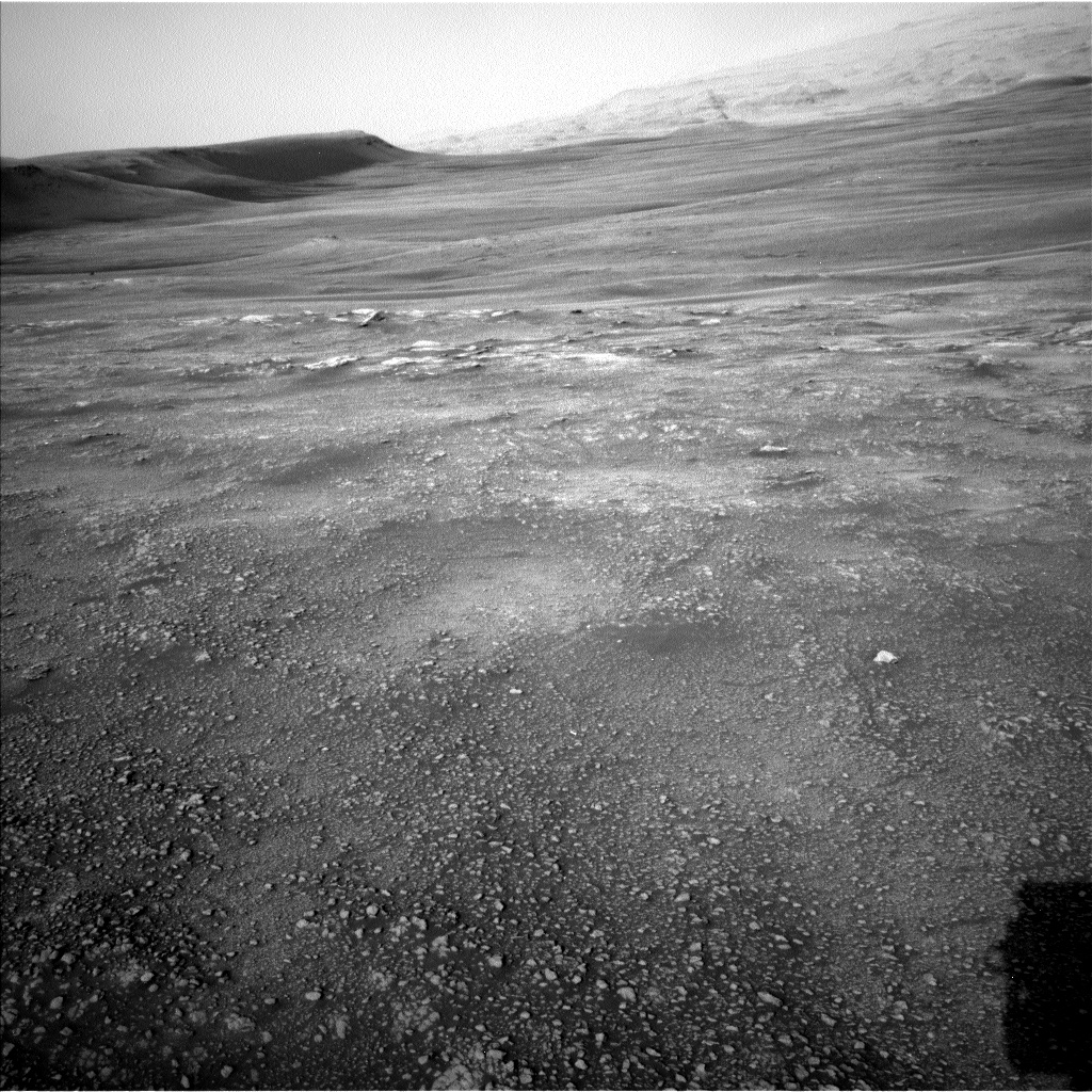 Nasa's Mars rover Curiosity acquired this image using its Left Navigation Camera on Sol 2352, at drive 264, site number 75