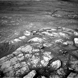 Nasa's Mars rover Curiosity acquired this image using its Right Navigation Camera on Sol 2352, at drive 96, site number 75