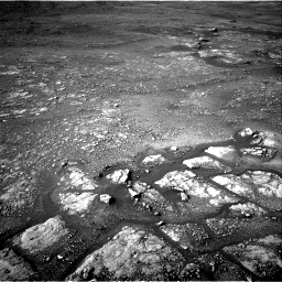 Nasa's Mars rover Curiosity acquired this image using its Right Navigation Camera on Sol 2352, at drive 108, site number 75