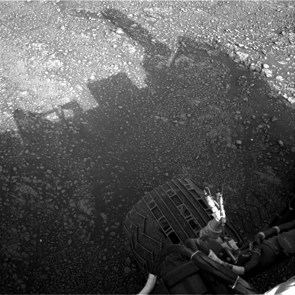 Nasa's Mars rover Curiosity acquired this image using its Right Navigation Camera on Sol 2352, at drive 264, site number 75