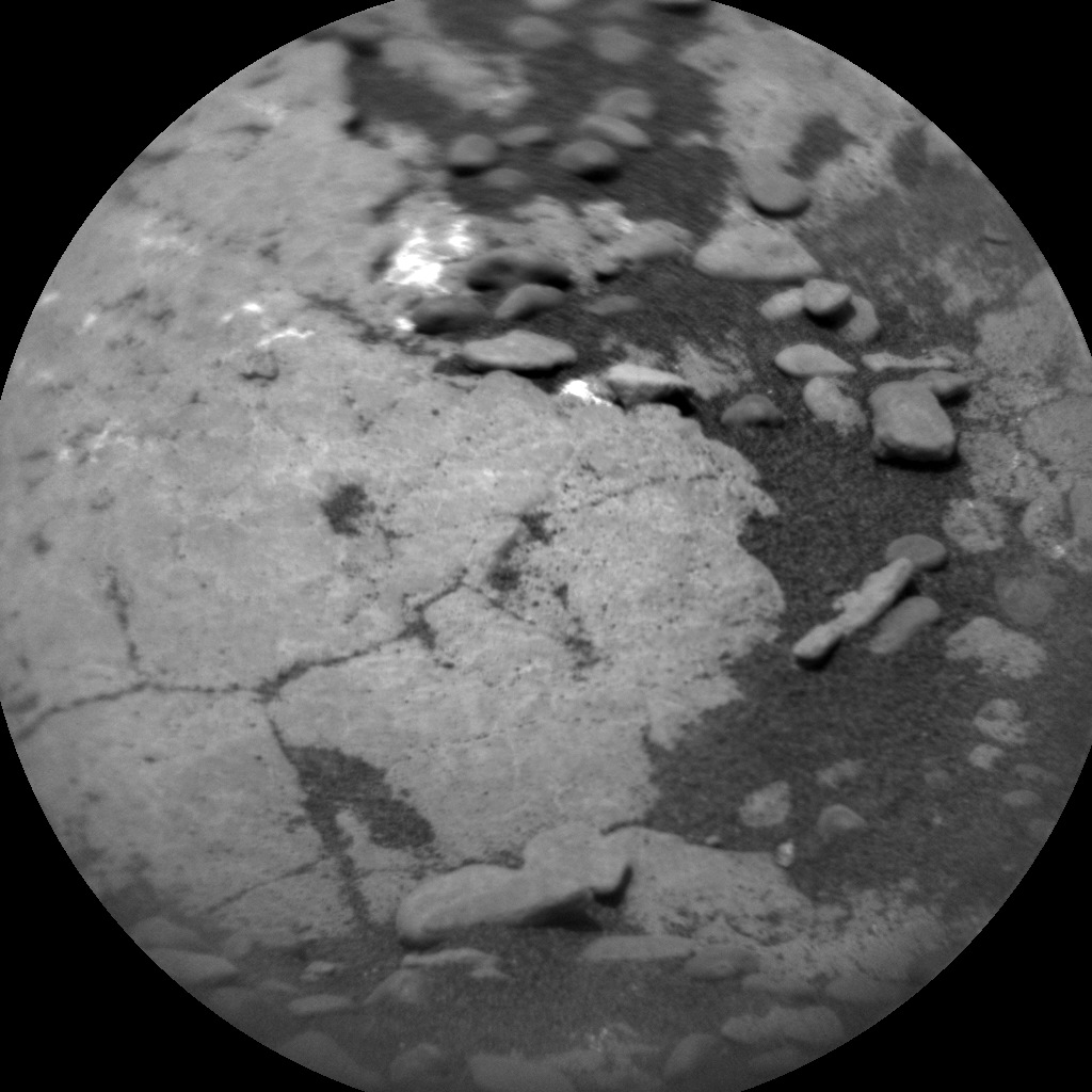 Nasa's Mars rover Curiosity acquired this image using its Chemistry & Camera (ChemCam) on Sol 2352, at drive 60, site number 75