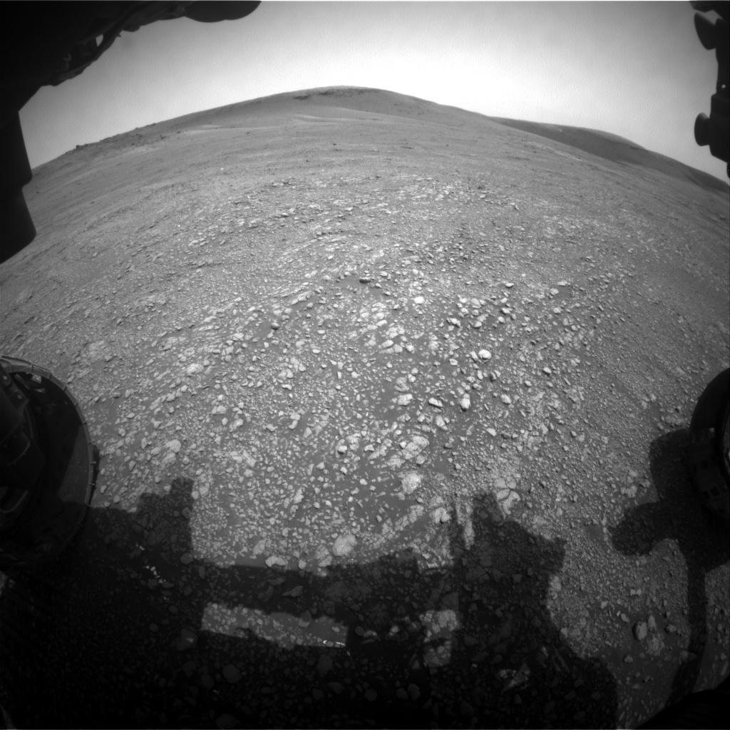 Nasa's Mars rover Curiosity acquired this image using its Front Hazard Avoidance Camera (Front Hazcam) on Sol 2353, at drive 264, site number 75