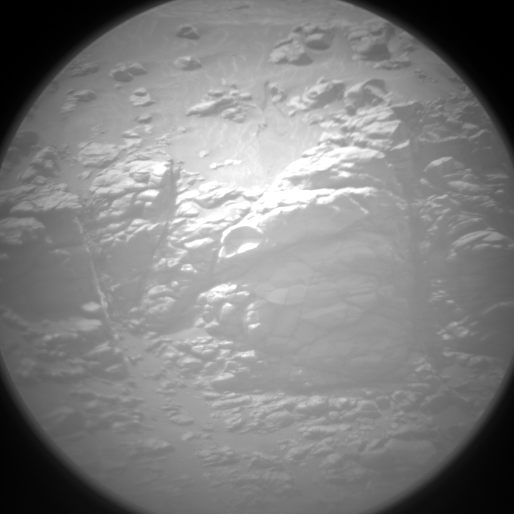 Nasa's Mars rover Curiosity acquired this image using its Chemistry & Camera (ChemCam) on Sol 2354, at drive 264, site number 75