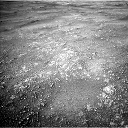 Nasa's Mars rover Curiosity acquired this image using its Left Navigation Camera on Sol 2354, at drive 276, site number 75