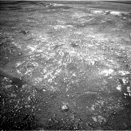 Nasa's Mars rover Curiosity acquired this image using its Left Navigation Camera on Sol 2354, at drive 384, site number 75