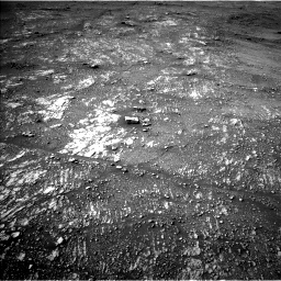 Nasa's Mars rover Curiosity acquired this image using its Left Navigation Camera on Sol 2354, at drive 438, site number 75