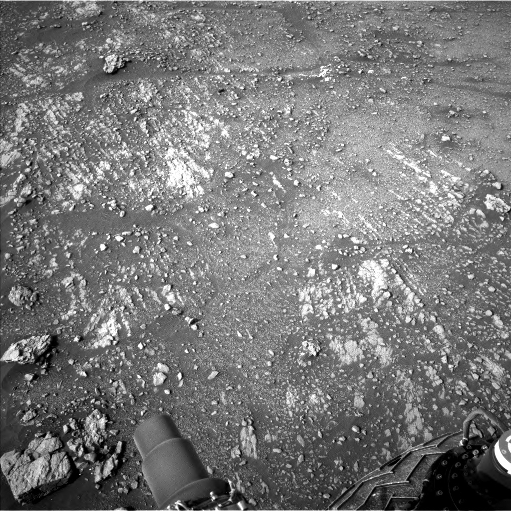 NASA's Mars rover Curiosity acquired this image using its Left Navigation Camera (Navcams) on Sol 2354