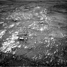 Nasa's Mars rover Curiosity acquired this image using its Right Navigation Camera on Sol 2354, at drive 444, site number 75