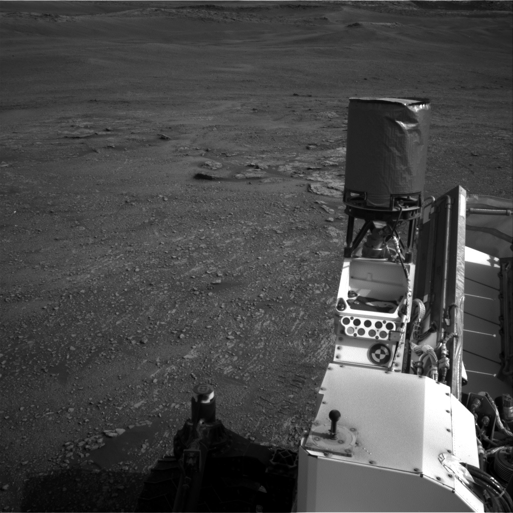 Nasa's Mars rover Curiosity acquired this image using its Right Navigation Camera on Sol 2354, at drive 456, site number 75