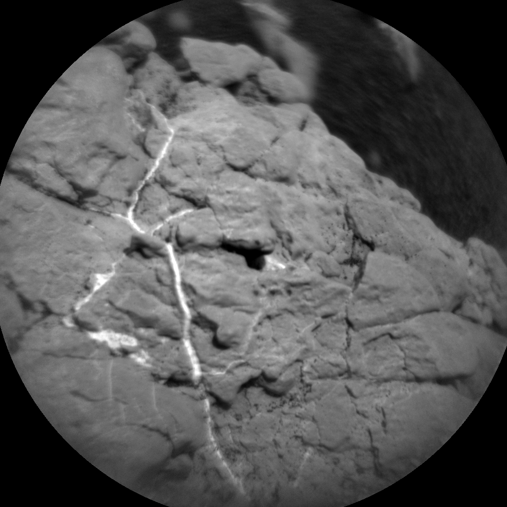 Nasa's Mars rover Curiosity acquired this image using its Chemistry & Camera (ChemCam) on Sol 2355, at drive 456, site number 75