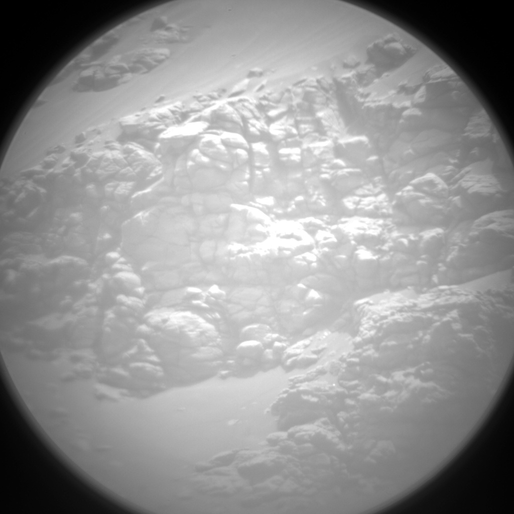 Nasa's Mars rover Curiosity acquired this image using its Chemistry & Camera (ChemCam) on Sol 2357, at drive 456, site number 75