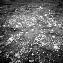Nasa's Mars rover Curiosity acquired this image using its Left Navigation Camera on Sol 2357, at drive 456, site number 75